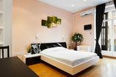 Interior design: Modern Bedroom — Stock Photo