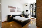 Interior Design: Modern Bedroom — Stock Photo