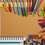 Back to School Series: school supplies — Stock Photo #19406287