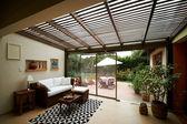 Interior design series: moderna sala de estar — Foto de Stock