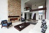 Interior séries design: moderna sala de estar — Fotografia Stock