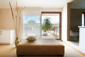 Interior design series: Modern Bedroom terrace and bathroom — ストック写真