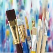 Back to School Series: art supplies — Stock Photo #19413815
