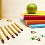 Back to School Series: school supplies — Stock Photo #19414569