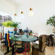 Stock Photo: Interior design serires: Dining room