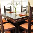 Stock Photo: Interior design - dinning room