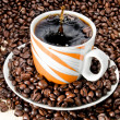 Coffee splash — Stock Photo