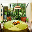 Interior design serires: Dining room - Stock Photo