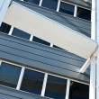 Stock Photo: Modern office building detail