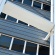 Modern office building detail — Stock Photo #19419421