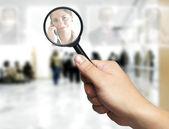 Concept de ressources humaines: le choix du candidat idéal pour le poste — Photo