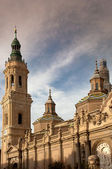 "The basilica of ""El Pilar"" in Zaragoza, Spain — Stock Photo"
