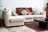 Provedení serires interiéru: obývací pokoj — Stock fotografie