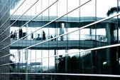 Business center glass — Stock Photo