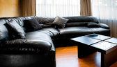 Living room - interior design — Stock Photo