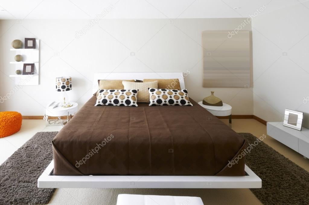 Interior design modern bedroom stock photo scornejor for Bedroom interior design photo gallery