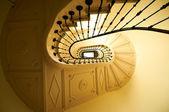 Eski ve klasik merdiven — Stok fotoğraf
