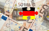 European financial crisis concept: Crisis in Germany — Stock Photo