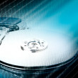 Technology concept: Hard drive - Stock Photo