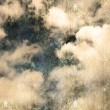 Retro image of cloudy sky - Stock Photo