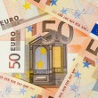 Stock Photo: 50 Euros Series