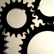 Stock Photo: Industrial gears