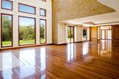 Sala de estar grande vazia — Foto Stock