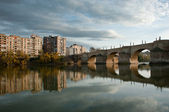 City of Zaragoza, Spain — Stock Photo