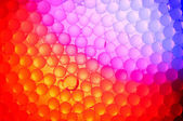 Colorful background with bubbles — Stock Photo