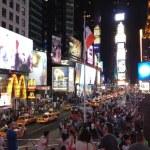 New York at night — Stock Photo #25112241