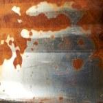 eski paslı varil — Stok fotoğraf