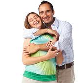 Jovem casal feliz — Foto Stock