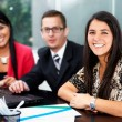 Group of business at office — Stock Photo