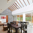 Interior design: Modern Dining and Living room — Stok fotoğraf