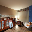 Interior design: Baby room — Stock Photo