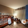 Interior design: Baby room — Stock Photo
