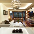 Interior design: Modern living room — Foto de Stock
