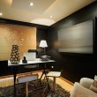 Stock Photo: Interior design: Moder studio office