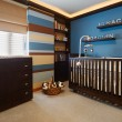 Stock Photo: Interior design: Baby room
