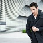 Elegant fashion young businessman — Stock Photo