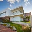 grote moderne huis — Stockfoto