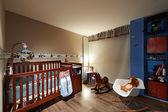 Interior design: Baby room — 图库照片