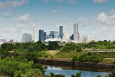 Houston, Texas. Skyline summer day — Stock Photo