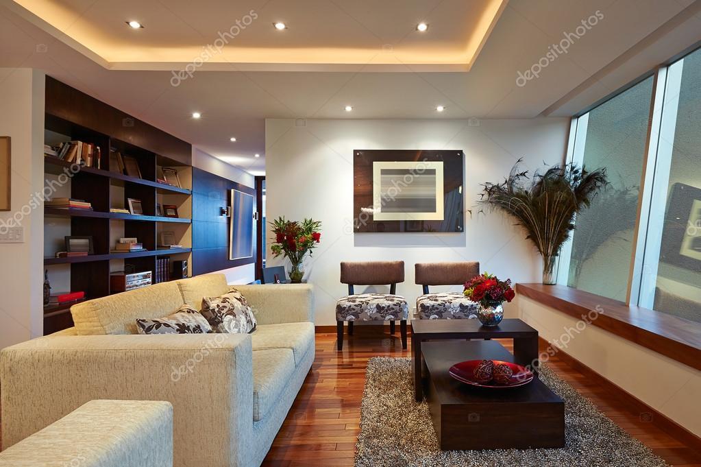 Stock Photo Interior Design Big Modern Living