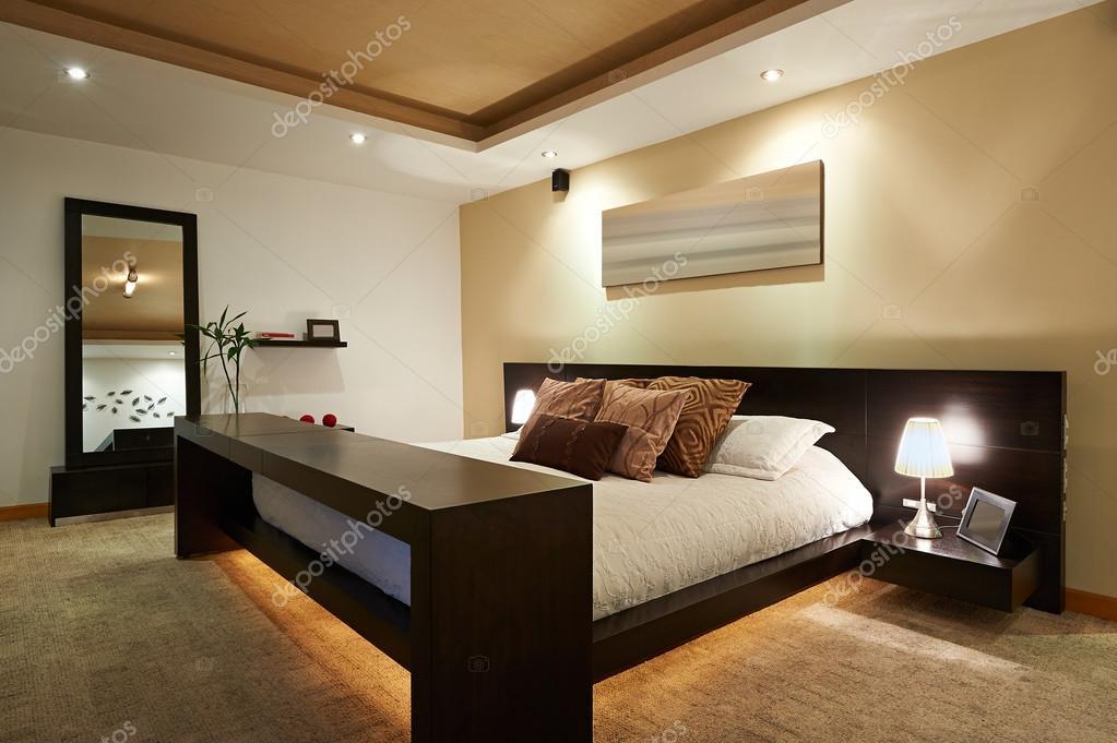 Interior Design Big Modern Bedroom Stock Photo Scornejor