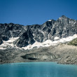 glacier lake — Stock Photo