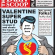 Valentinesuperspoof — Stock Vector