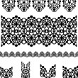 Seamless Vector Lace Border — Stock Vector #22370011