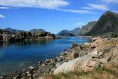 ノルウェー ロフォーテン諸島の島の世界 — ストック写真