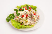 Salad with mayonnaise — Stock Photo